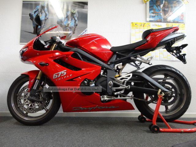 2012 Triton  Daytona 675 1.Hand-1st year warranty-top condition! Motorcycle Sports/Super Sports Bike photo
