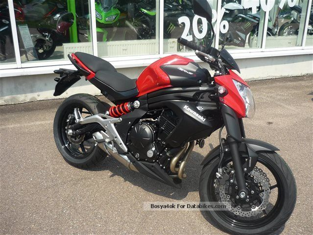2013 Kawasaki ER 6n ABS ER6N Free Throttle 48HP