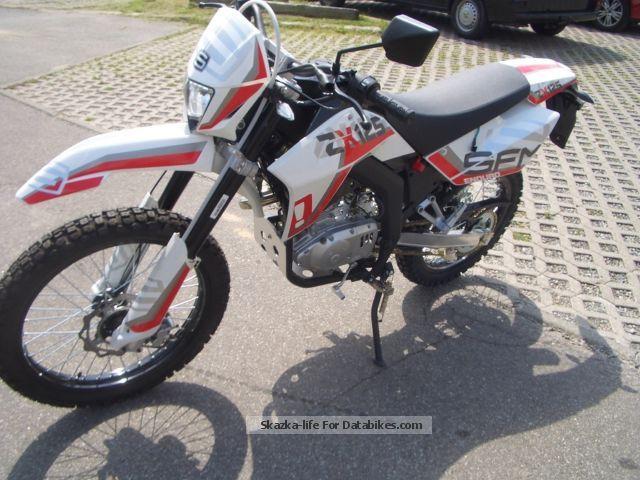 2012 Sachs  SX 125 Motorcycle Enduro/Touring Enduro photo