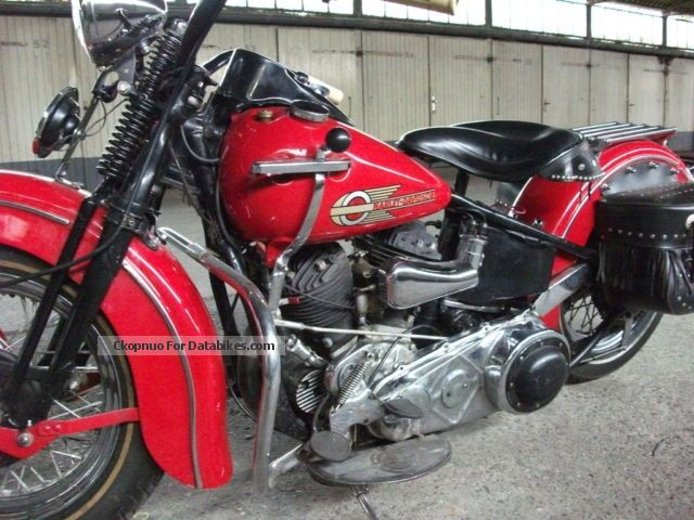 1938 Harley Davidson Harley-Davidson may model bj. 1938 Motorcycle ...