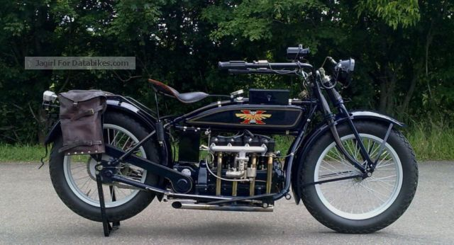 Indian  Henderson De Luxe \ 1922 Vintage, Classic and Old Bikes photo