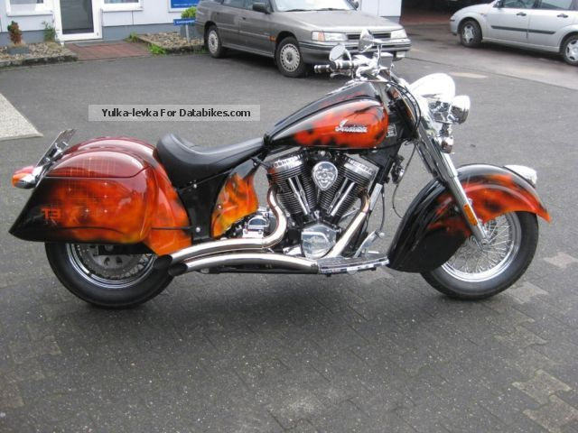2003 Indian  Chief Terminator 3 Motorcycle Chopper/Cruiser photo