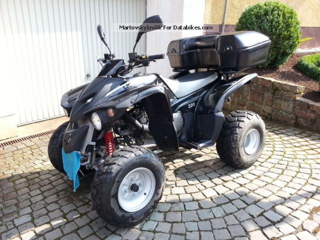 2011 Adly  Sentinel Cross 220 Motorcycle Quad photo