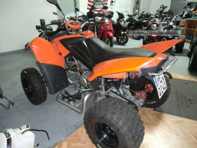 2010 Adly  300 Motorcycle Quad photo