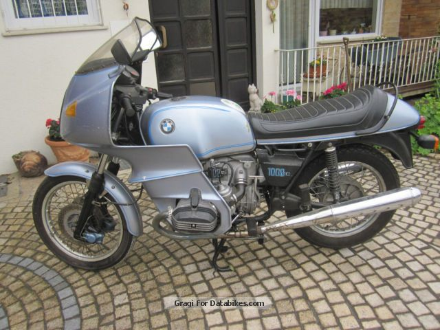 Blata  BMW R 100 RS 1977 Vintage, Classic and Old Bikes photo