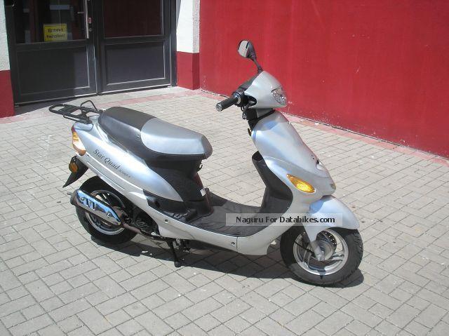 2006 Zhongyu  REX 50 JLQT 5 Motorcycle Scooter photo