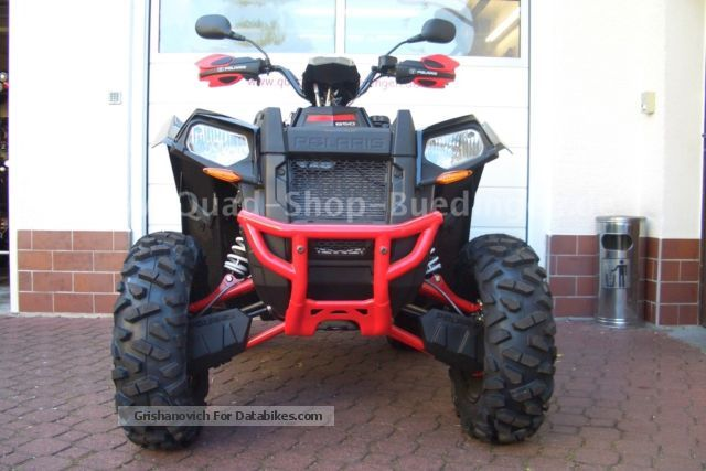2012 Polaris  Scrambler XP 850 EFI H.O. 4x4 Motorcycle Quad photo