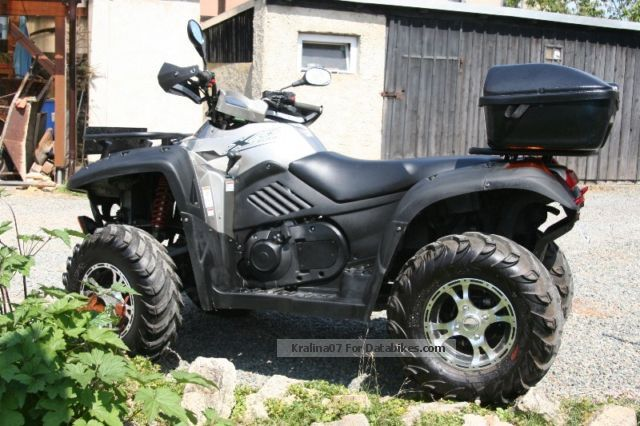 2012 CFMOTO  X6 625 Motorcycle Quad photo