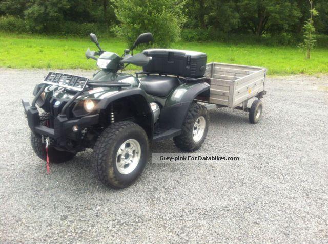 2012 Linhai  ATV 600 Automatic 4x4 + trailer Stema Motorcycle Quad photo