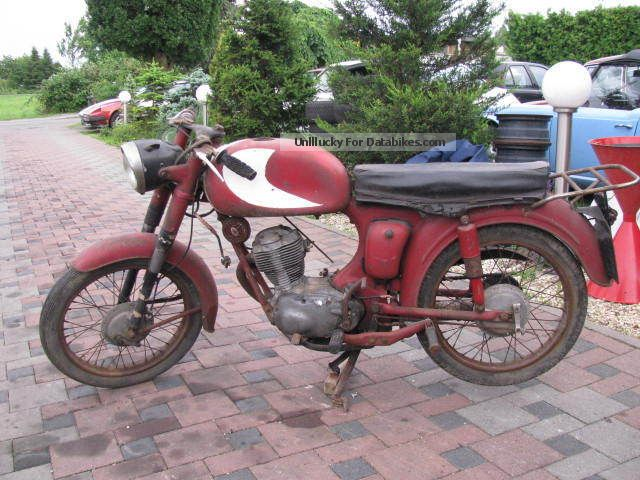 Moto Morini  98 1959 Vintage, Classic and Old Bikes photo