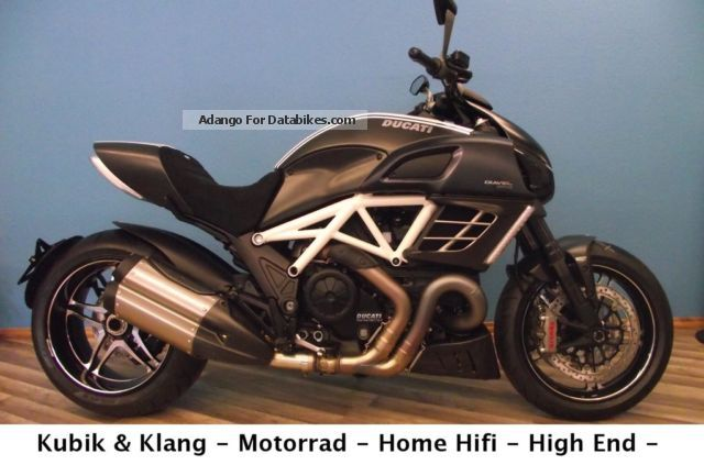 2012 Ducati  Diavel AMG + + + + + + New ABS Motorcycle Naked Bike photo