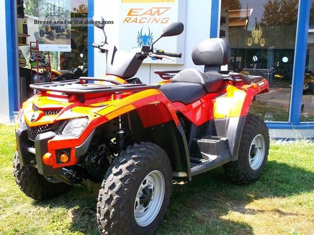 2013 Can Am  BRP Outlander 400 EFI 4x4 Max Motorcycle Quad photo