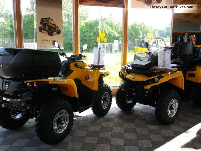2012 Can Am  BRP Outlander 500 DPS Motorcycle Quad photo