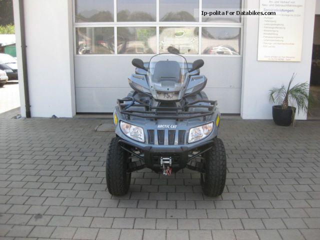 2011 Arctic Cat  700 TRV Cruiser + Case + Grifheizung + AHK Motorcycle Quad photo