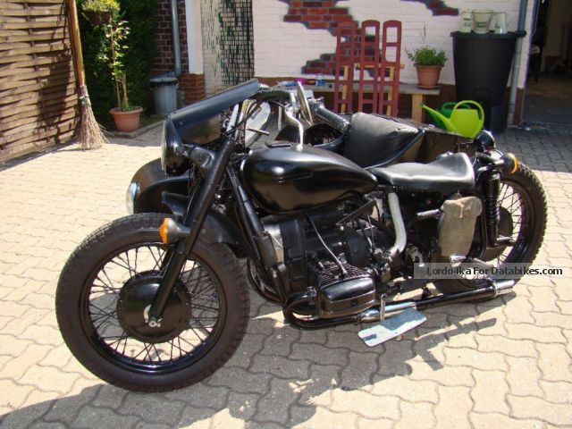 1986 Ural  Dnepr mt 11 Motorcycle Combination/Sidecar photo