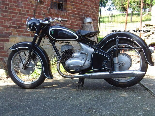 DKW  250/2 1954 Vintage, Classic and Old Bikes photo