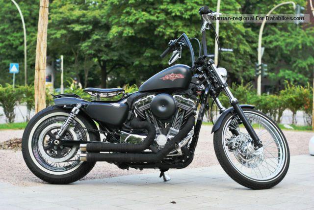 2012 Harley Davidson Harley-Davidson sportster 72 bobber ...