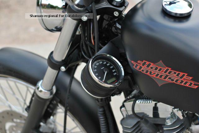 2012 Harley Davidson 72 Sportster Bobber