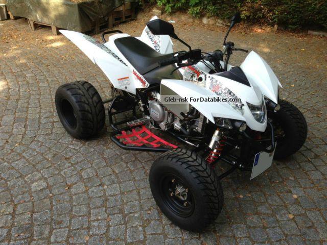 2013 Explorer  Trasher 520 SM Motorcycle Quad photo