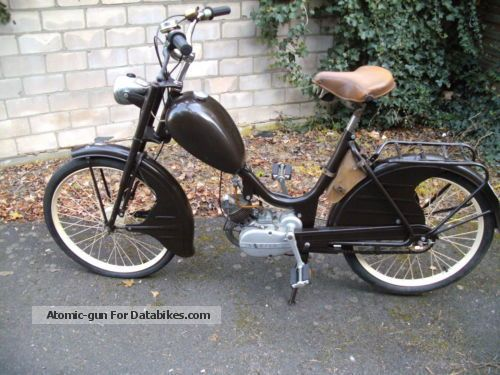 Sachs  Heitmann \u0026 Wittler moped 1955 Vintage, Classic and Old Bikes photo