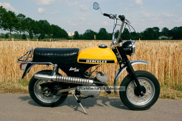 Hercules  Sportbike SB2 1974 Vintage, Classic and Old Bikes photo