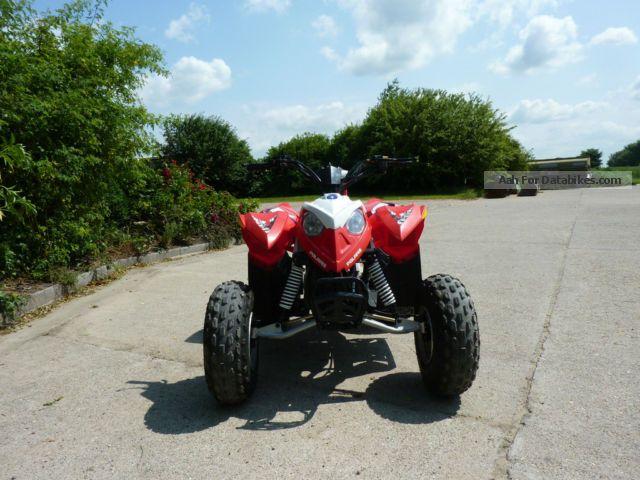 2010 Polaris  Outlaw 90 Motorcycle Quad photo