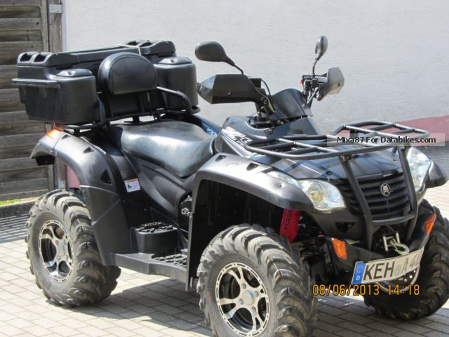 2012 CFMOTO  CF Moto 625 X6 Grison Terra Freelander 4X4 Quad ATV Motorcycle Quad photo