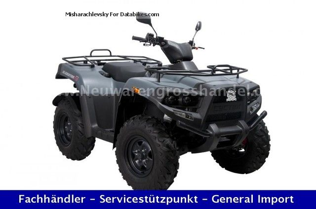 2012 Cectek  Gladiator EFI T6 ix D - LOF including delivery, NEW Motorcycle Quad photo