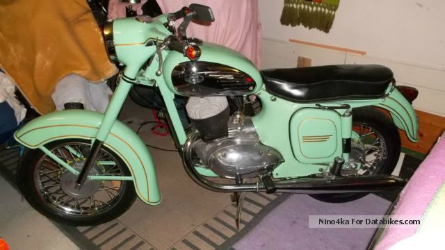 Jawa  250 Panelka - Dual Port 1966 Vintage, Classic and Old Bikes photo