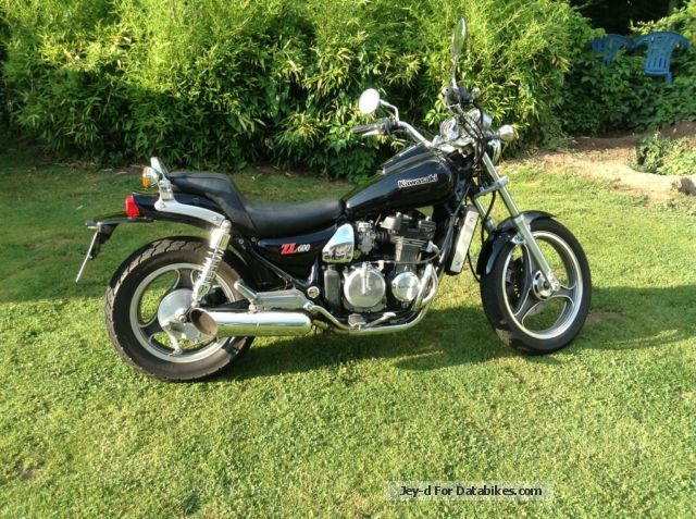 1985 Kawasaki  ZL. 600 Motorcycle Chopper/Cruiser photo