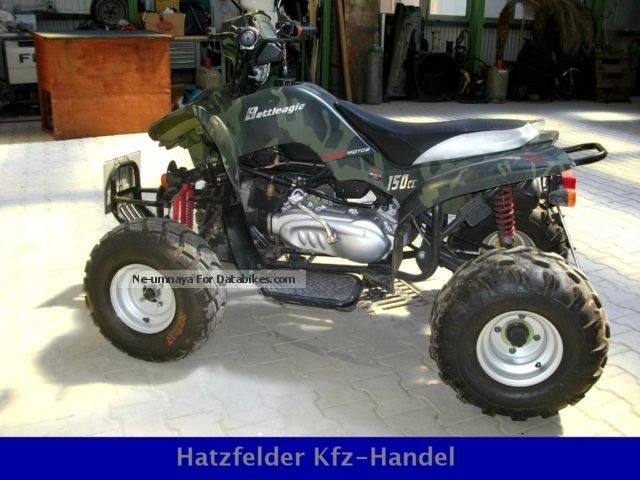 2008 Bashan  150s quad with reverse gear / ATV Motorcycle Quad photo