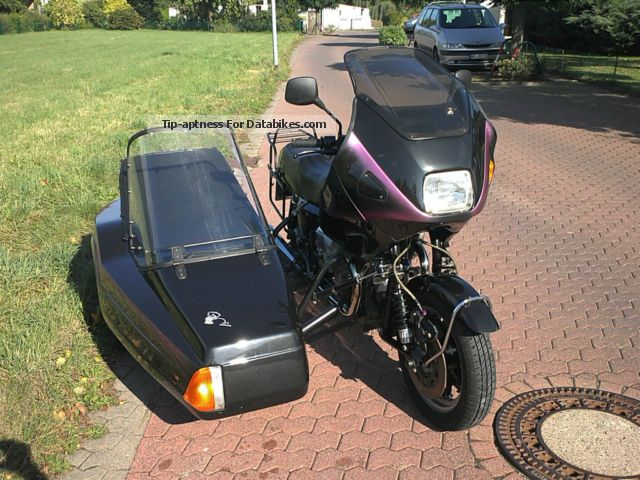 1992 Moto Guzzi  Mille GT Motorcycle Combination/Sidecar photo
