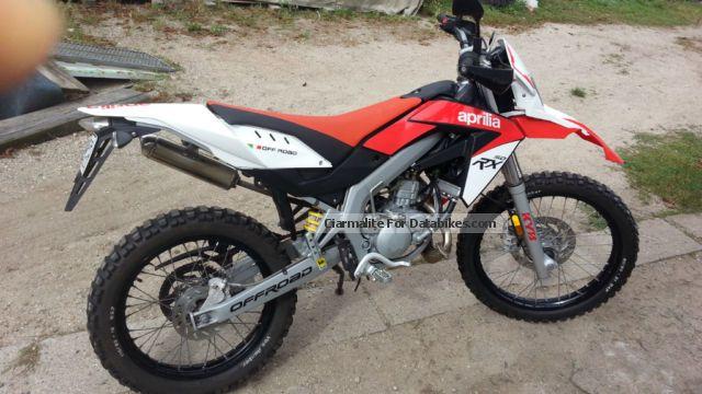 2012 Aprilia  RX 50 Motorcycle Enduro/Touring Enduro photo