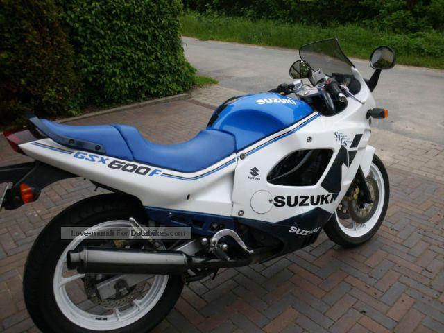 1989 Gsx 600: 1989 Suzuki Gsx 1100 F Pics Specs And