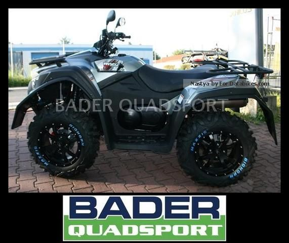 2012 Kymco  MXU 550i 4X4 EFI LoF *** NEW MODEL *** Motorcycle Quad photo