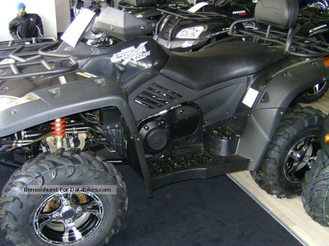 2012 Explorer  Grison 625 Motorcycle Quad photo