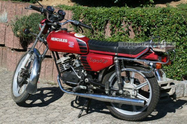 1981 Herkules  Subra 4GP Motorcycle Motor-assisted Bicycle/Small Moped photo