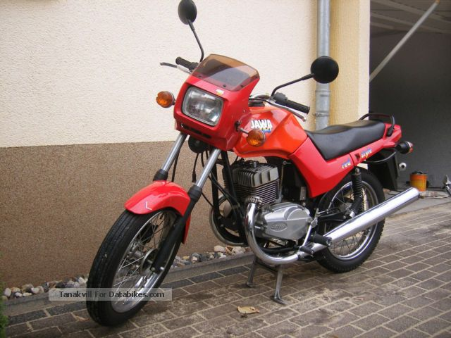 1992 Jawa  350/640 Motorcycle Naked Bike photo
