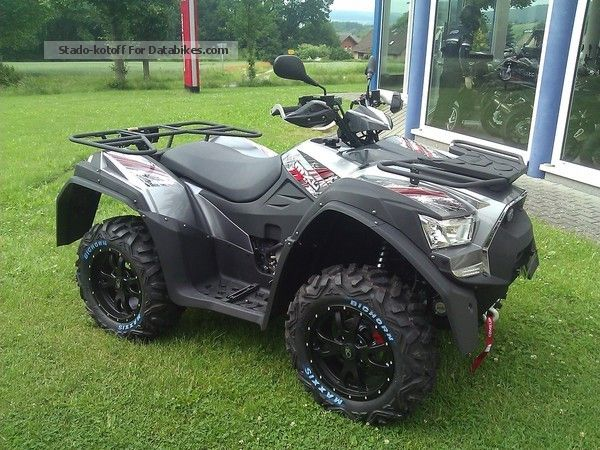 2012 Kymco  MXU 700 EXi LOF / test with us ! Motorcycle Quad photo
