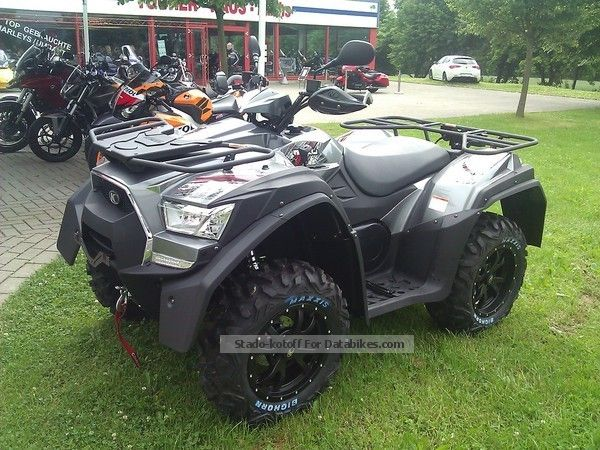 2012 kymco mxu 700 exi lof test with us. Black Bedroom Furniture Sets. Home Design Ideas