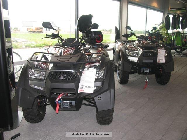 2013 Kymco  MXU 550 EXI LOF '' presenter '' Motorcycle Quad photo