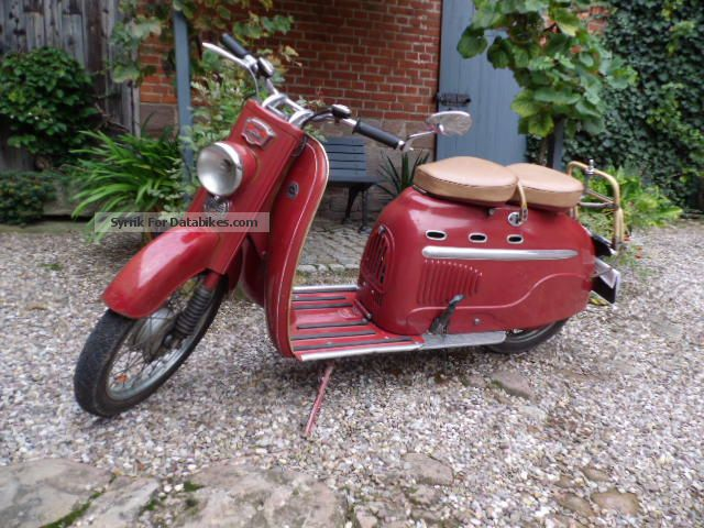 DKW  Hobby Manurhin 1958 Vintage, Classic and Old Bikes photo