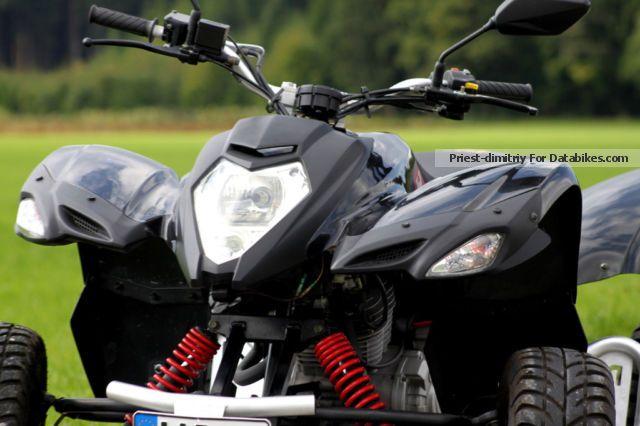 2011 Beeline  Bestia 3.3 ATV-A300 - Very good condition Motorcycle Quad photo