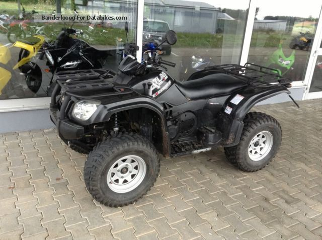 2011 CFMOTO  Atlas500 Explorer 4X4 Long Lof Motorcycle Quad photo