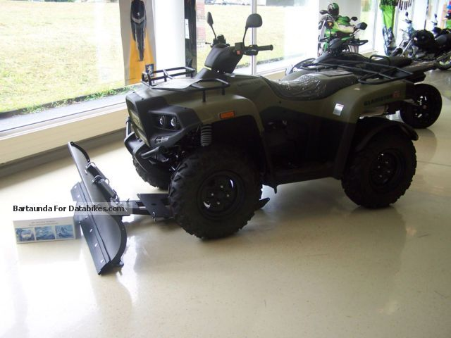 2012 Cectek  Gladiator T5 EFI LOF m. Snow blade and winch Motorcycle Quad photo