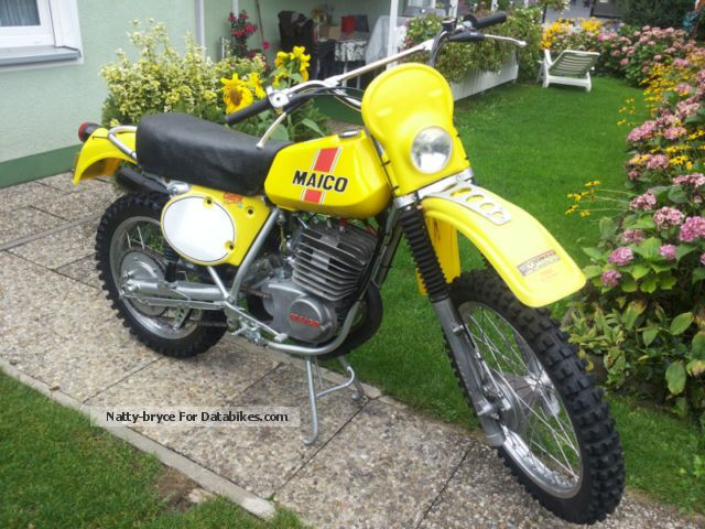Maico  GS 250 1975 Vintage, Classic and Old Bikes photo