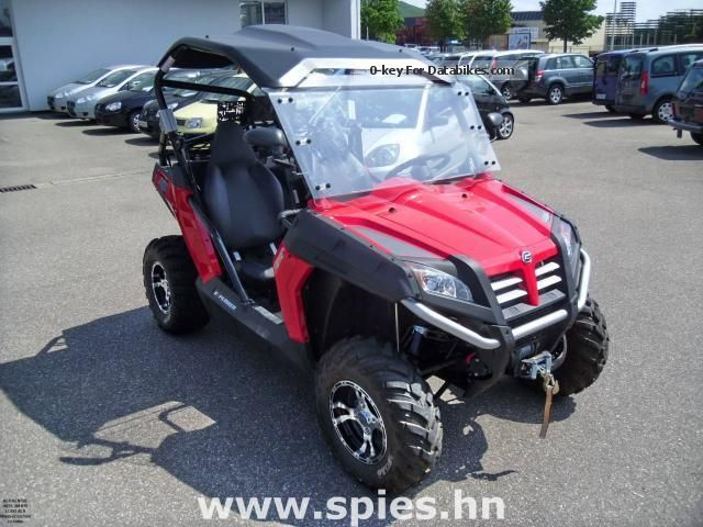2013 Explorer  TerraCross 625 EFI 4x4 incl LOF Motorcycle Quad photo