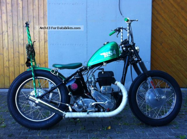 BSA  M20 M21 `39 Chopper Bobber Hot Rod Pre Unit 1939 Vintage, Classic and Old Bikes photo