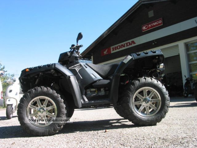 2012 Polaris  Sportsman XP 550 EFI EPS, Forest winch servo Motorcycle Quad photo