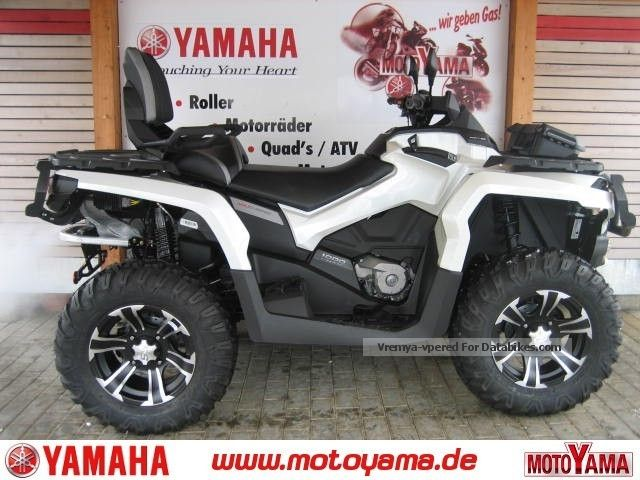 2013 Can Am  1000 Outlander MAX LTD, price action model 2013! Motorcycle Quad photo
